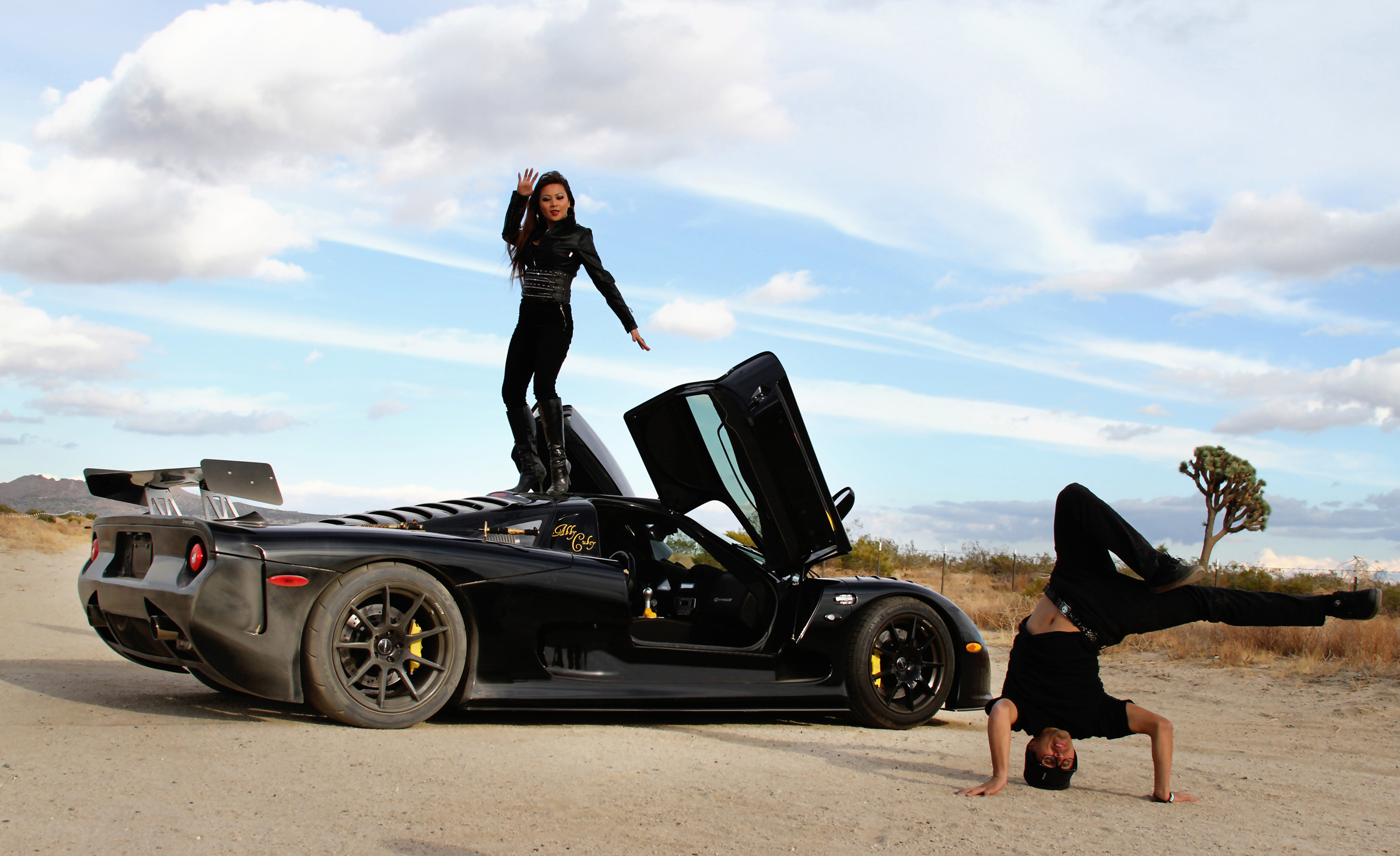 2012 RaptorGTR & Abby Cubey 4 in desert press photo